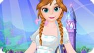 Игра Холодное сердце: Волшебный наряд Анны