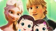 Игра Холодное сердце: Забота Эльзы о близнецах