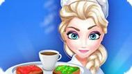 Игра Холодное сердце: Затрак в ресторане Эльзы