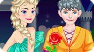 Игра Холодное сердце: Зимнее свидание Эльзы и Джека