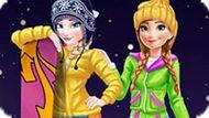 Игра Холодное сердце: Зимние каникулы Эльзы и Анны