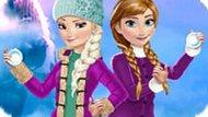 Игра Холодное сердце: Зимние забавы Эльзы и Анны