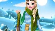 Игра Холодное сердце: Зимний отдых Эльзы