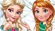 Игра Холодное сердце: Зимняя мода Эльзы и Анны