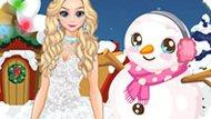 Игра Холодное сердце: Зимняя мода принцессы Эльзы