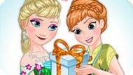 Игра Холодное торжество Эльзы и Анны