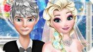Игра Идеальная свадьба Эльзы и Джека
