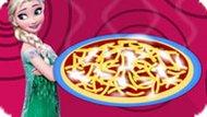 Игра Эльза готовит томатный пирог