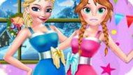 Игра Эльза и Анна: День благодарения