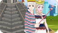 Игра Эльза и Джек: Селфи в Мексике