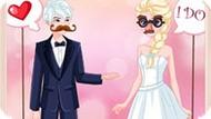 Игра Эльза и Джек: Свадебное фото