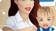 Игра Кэрол ухаживает за малышом