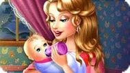 Игра Кормить малыша из бутылочки