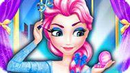 Игра Королевский макияж Эльзы