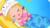 Игра Малышка Барби ложится спать