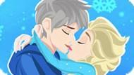 Игра Поцелуи Эльзы и Джека