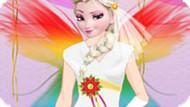 Игра Принцесса Эльза фея