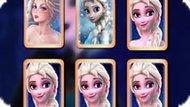 Игра Принцесса Эльза: Карты памяти