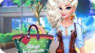 Игра Принцесса Эльза: Мода с кисточками
