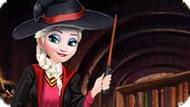 Игра Принцесса Эльза в Хогвартсе