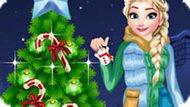 Игра Рождественская елка Эльзы