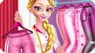Игра Розовая мода Эльзы
