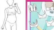 Игра Шить одежду для беременной