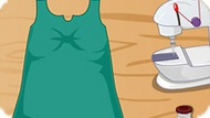 Игра Шить одежду: старое платье