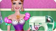 Игра Шить платье принцессе