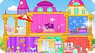 Игра Строить дома: Кукольный дом принцессы