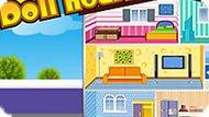 Игра Строить дома: Украшение кукольного дома
