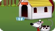 Игра Строить домик для собаки