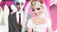 Игра Свадебный наряд Эльзы и Джека