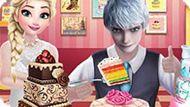 Игра Свадебный торт Эльзы и Джека