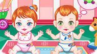 Игра Уход за близнецами