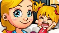 Игра Уход за малышами: Няня для плохих детей