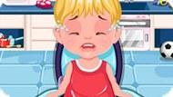 Игра Уход за малышами: Вредный малыш