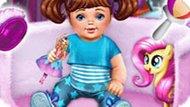 Игра Уход за малышкой принцессой