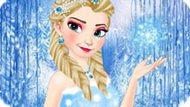 Игра Зимняя мода Эльзы