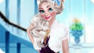 Игра Зимняя мода принцессы Эльзы
