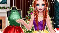Игра Зимняя одевалка Анны