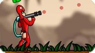 Игра Человек-какашка с базукой