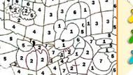 Игра Раскраска по номерам Сэндбокс — Мышка
