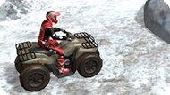 Игра Зимняя гонка на квадроциклах 3D