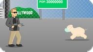 Игра Терминатор против свиного гриппа