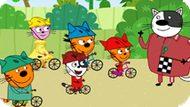 Игра Три Кота: Велогонка