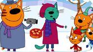 Игра Три кота: Зима