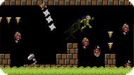 Игра Донни спасает принцессу — Черепашки-ниндзя
