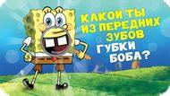 Игра Какой ты из передних зубов Губки Боба?