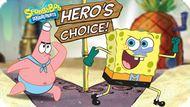 Игра Супергеройский выбор — Губка Боб